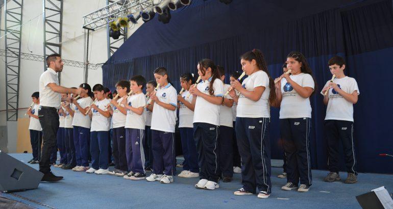Alumnos de NIvel Primario en concierto!